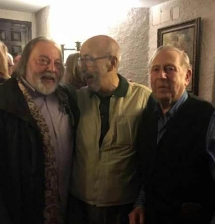 Juan Carlos Uriarte, Jular y Luis García Zurdo.