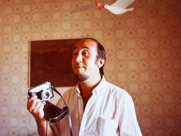 Jular en Tenerife, en 1983, en casa de Mar Astiárraga y Avelino Fierro.