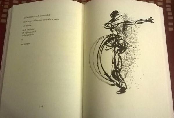 Páginas del libro, con ilustración de Marta Azparren.