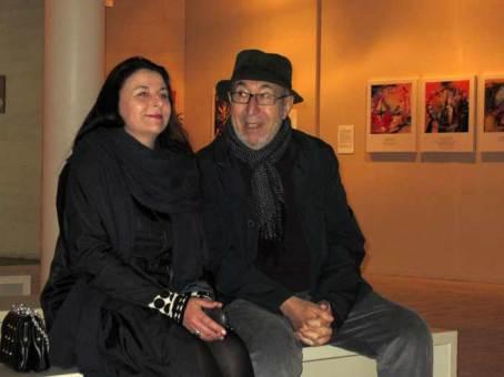 Manuel Jular con su hija Teresa.