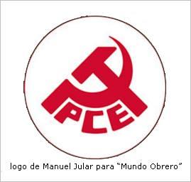 """Logo de Manuel Jular para """"Mundo Obrero""""."""