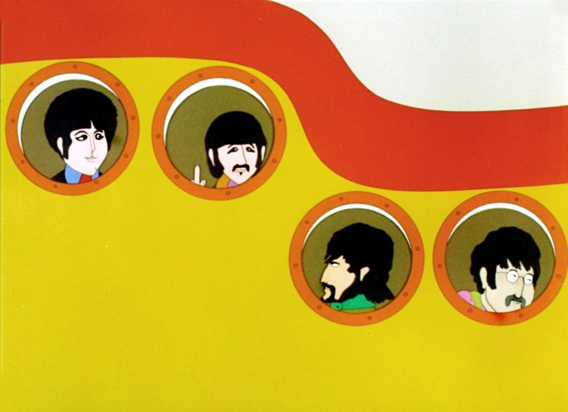 %27Yellow submarine%27%2c de The Beatles%2c es una muestra de música pop apta para todos los públicos.jpg