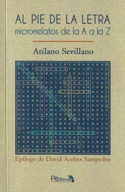 Portada del libro de Atilano Sevillano