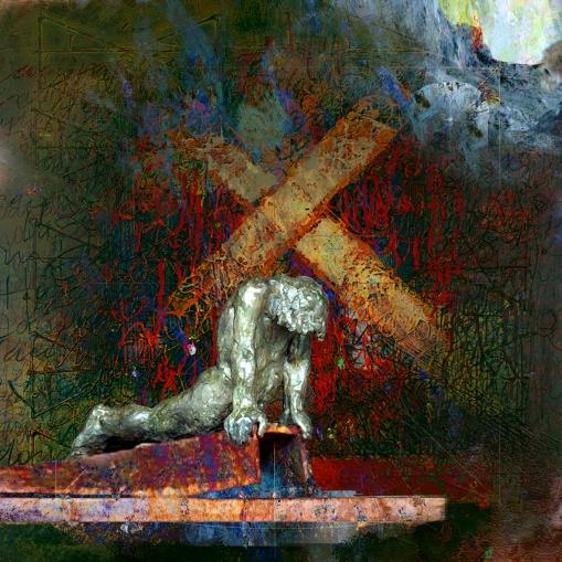 Obra de Jular dedicada al escultor Amancio.