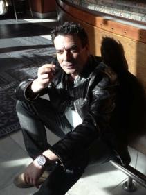 Juan Carlos Pajares en una imagen retrospectiva. © Fotografía: Agustín Berrueta.