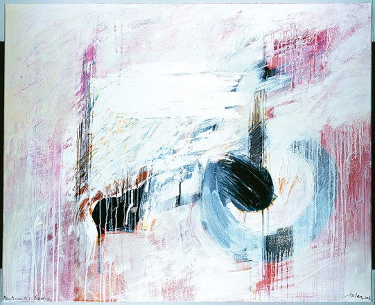 """Pentimento 1. Sibelius. 2003"". Obra de Manuel Jular."