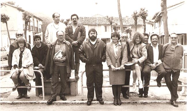 Encuentro de artistas y escritores leoneses. ¿1987-1988?