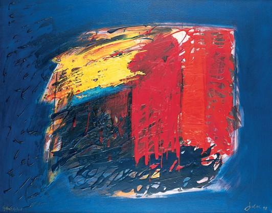 """""""Génesis"""", una obra de Manuel Jular de 1998."""