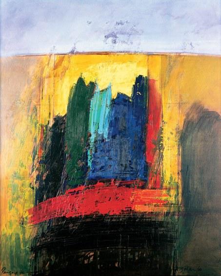 """""""Paisaje de fuera a dentro"""". Obra de Manuel Jular (2000)."""