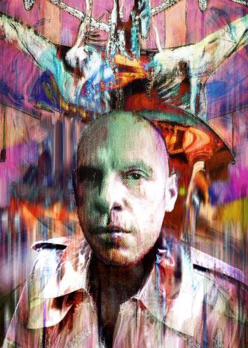 Retrato de Salvador Armesto, por Manuel Jular.