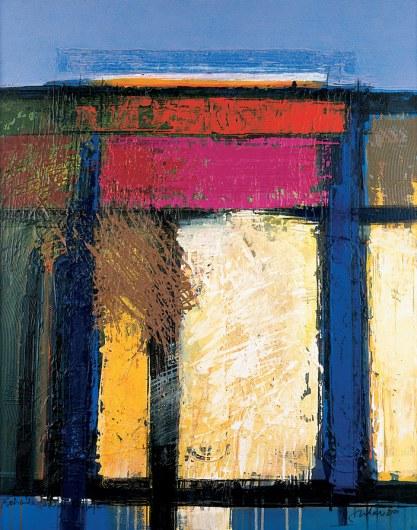 """© Manuel Jular. Pintura de la serie """"Conversaciones con Shostakovich""""."""