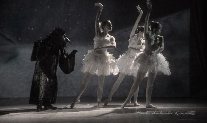 """""""El lago de los cisnes. La leyenda de la princesa cisne"""", de Morfeo Teatro-Karlik Danza-Gloria Muñoz Artes Escénicas."""
