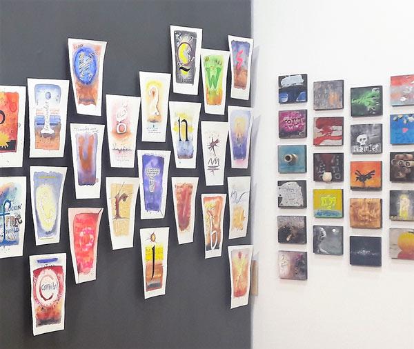 """Exposición """"Al pie de la letra"""", de Rafa Casas, en Espacio_E."""