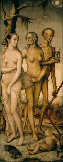 Obra de Hans Baldung (1541-1544).