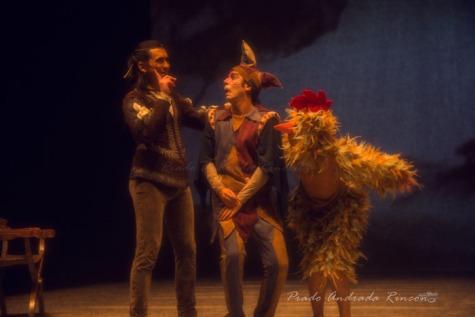 """El lago de los cisnes. La leyenda de la princesa cisne"""". Morfeo Teatro-Karlik Danza-Gloria Muñoz Artes Escénicas."""