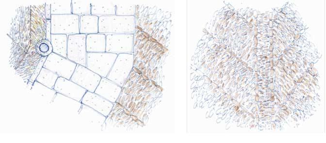 Detalles de la solución de pavimentos. Fuente: Ayuntamiento de León.