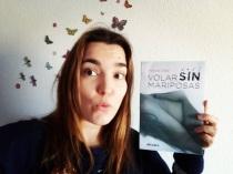 Marina Díez, con su nuevo libro.