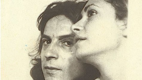 Amable Arias y su compañera, Maru Rizo, en una imagen retrospectiva.
