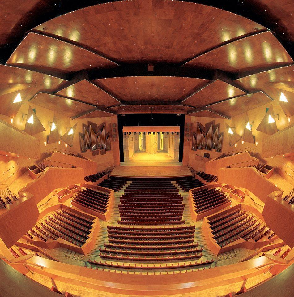 Auditorio/Sala Sinfónica del Palacio Euskalduna de Bilbao.