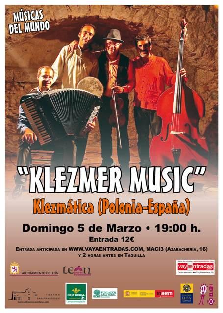 Cartel concierto Teatro San Francisco