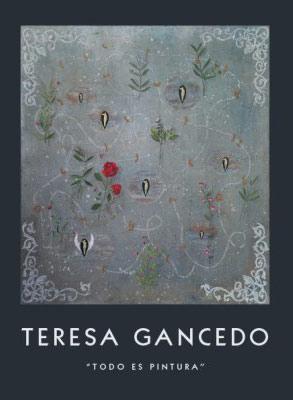 "Portada del libro ""Todo es pintura"" de Teresa Gancedo."