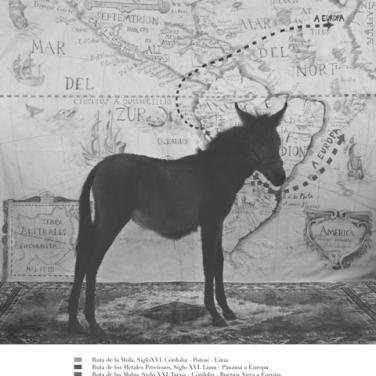 Adriana Bustos. Antropologia de la mula, 2007-11. Cortesía de la artista