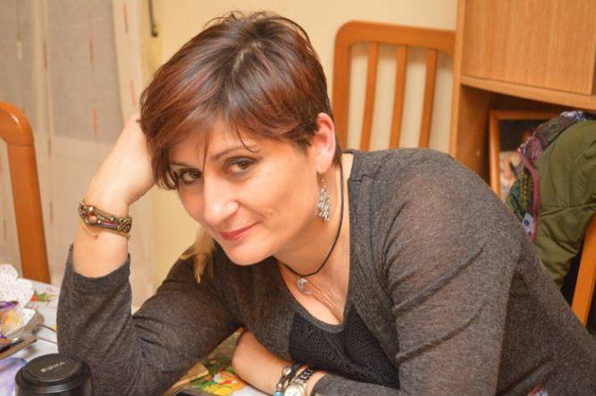 La poeta e ilustradora Nuria Antón.