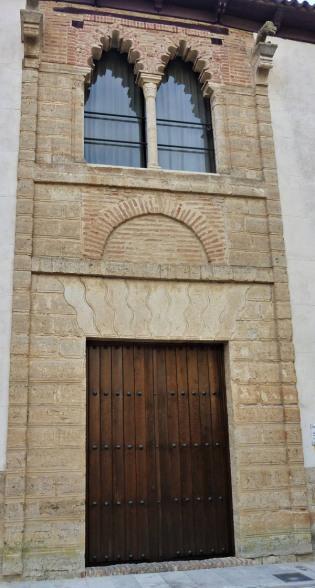 Portada Palacio Tordesillas Astudillo. Portada palacio de Pedro I y María de Padilla.