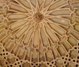 Sala Dorada, cúpula. Tordesillas.