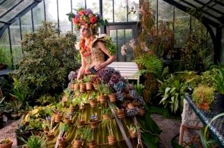 Nicole Dextras. Mobile Garden Dress. 2011. Fotografía: Cortesía Musac
