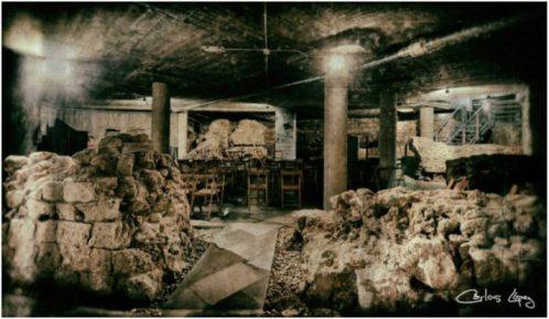 Cripta arqueológica de Cascalería, en León. Fotografía: Carlos López.