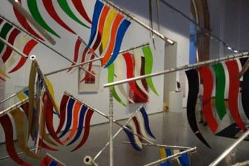 Pendones en el Museo Etnográfico.