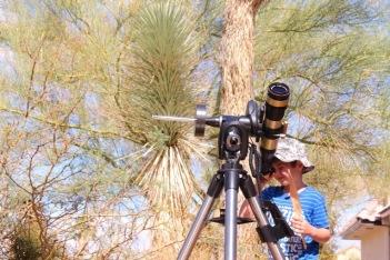 Taller Aprende a manejar tu telescopio. Fundacion Cerezales .