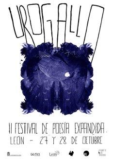 II Festival Urogallo. Cartel de Eduardo Fandiño.