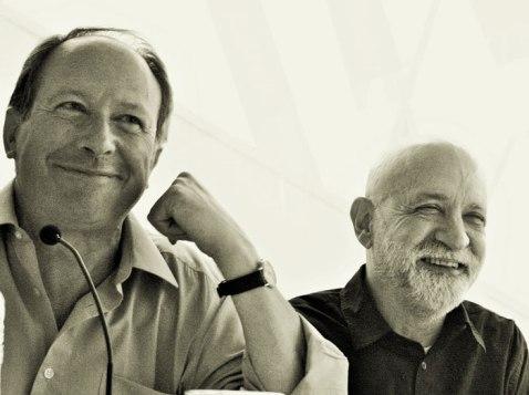 Ignacio Gómez de Liaño y Eduardo Scala.