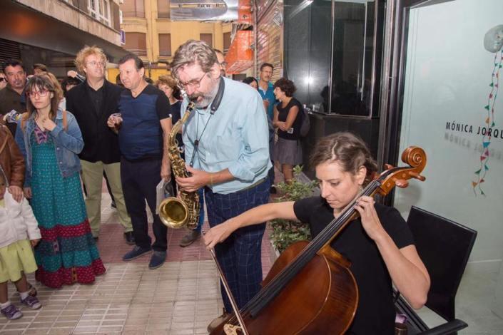 Ildefonso Rodríguez y Mónica Jorquera. Foto: Vicente García.