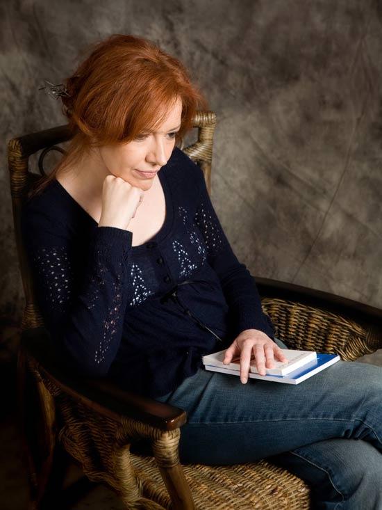 La poeta y escritora leonesa Ana Isabel Conejo. Fotografía: David Blanco.