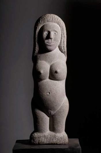 Escultura de Jonás Pérez. © Fotografía: Amando Casado.