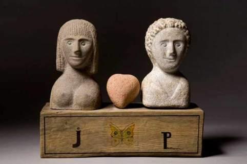 Obra escultórica de Jonás Pérez. © Fotografía: Amando Casado.