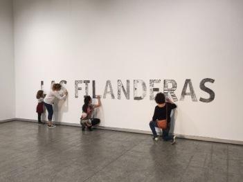 Acción mural Las Filanderas. Fotografía: Cortesía de la artista.