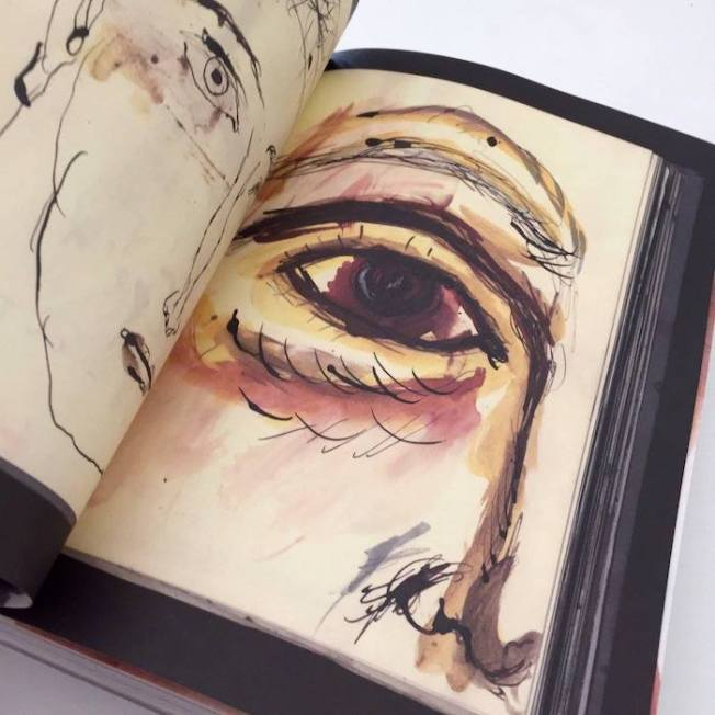 Cuaderno del ilustrador Javier Zabala.