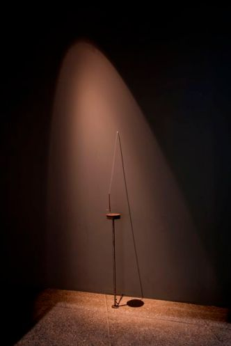 Gustav Metzger Dropon on Hot Plate [Gota sobre plato caliente], 1968 Colección MUSAC
