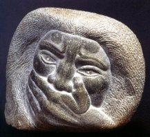 Obra de la escultora Castorina.