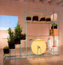 Santiago Morilla Prototipo de bicimáquina para huerta-invernadero de interior #1, 2016 Colección MUSAC