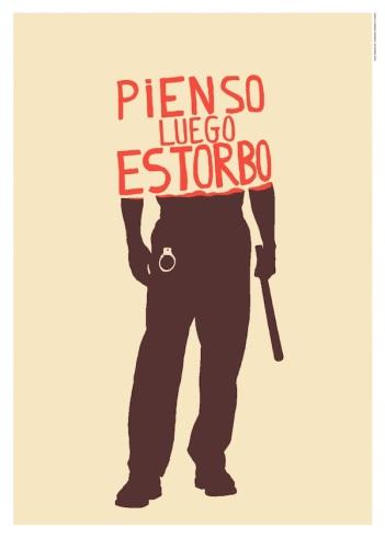 """Obra del colectivo """"Un Mundo Feliz""""."""