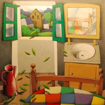 Pintura de Manuel Sierra.