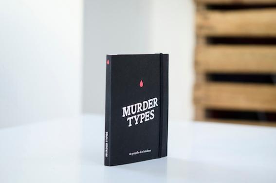 """""""Murder Types"""", obra de 'el abrelatas'."""