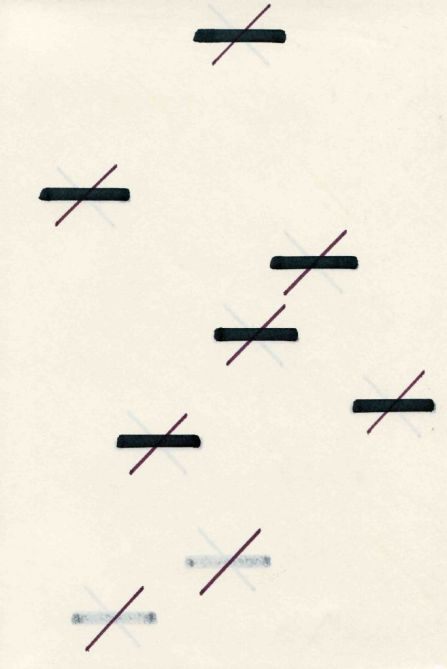 José Luis Castillejo El libro de la notación (selección), 1974-1975. Staatsgalerie Stuttgart, GraphischeSammlung