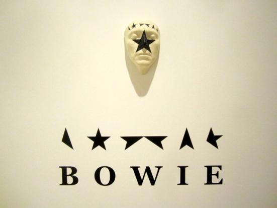 'David Bowie. Carlos Luxor Colección'.