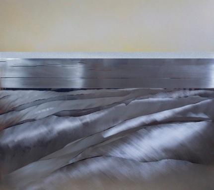 Encarnación Domingo_Dunas mixta s. aluminio 80 x 70 cm.